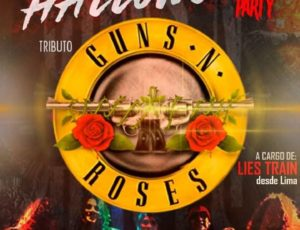 THE MULISSE DISCO BAR FIESTA DE HALLOWEEN TRIBUTO A LOS GUNS N' ROSES